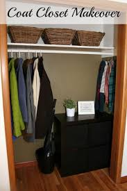 coat closet makeover a bright and beautiful life