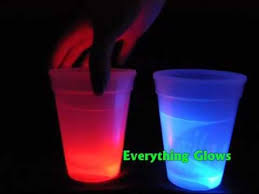 glow in the cups everything glows glowing cups 4 pack