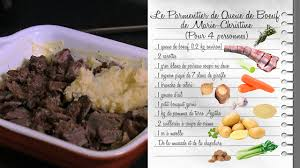 france3 fr cuisine le parmentier de queue de bœuf de christine http france3