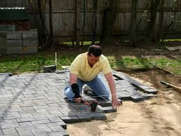 How To Make A Patio Out Of Pavers How To Building A Patio With Pavers Hgtv