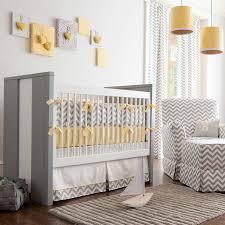 zig zag yellow and grey crib bedding yellow and grey crib