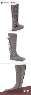 ugg s mammoth boots uggs mammoth charcoal uggs and leather