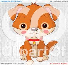 dog halloween transparent background clipart of a cute brown baby puppy dog sitting royalty free