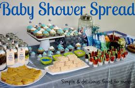 baby shower food ideas for a boy best inspiration from
