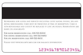 hotel gift certificates your hotel coronado gift card
