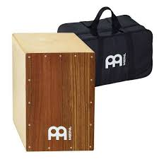 meinl mini cajon with birch frontplate light brown meinl ovangkol snare cajon with free bag long mcquade musical