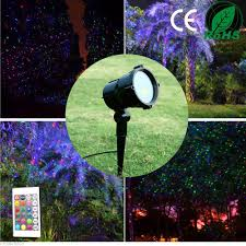 decoration garden party red green blue laser led waterproof out door garden party club