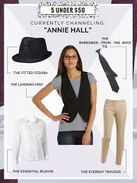 Kmart Size Halloween Costumes Embrace Androgynous Style Diy Annie Hall Halloween Costume