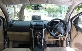 isuzu dmax interior driven isuzu d max v cross autodevot