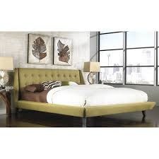 Mid Century Platform Bed Fashion Mid Century Style Bed Group B7165 Prelude Complete