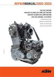 manual de taller ktm 2000 2005
