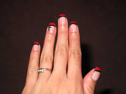 french tip nails with designs image collections nail art designs