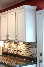 how to install crown molding on kitchen cabinets install crown molding on kitchen cabinets femvote