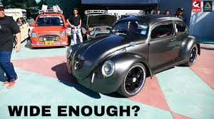 volkswagen modified vw beetle stance modified borneo kustom show 2017 youtube