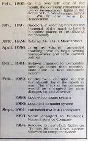 farm writing paper frederick mutual frederick mutual insurance company fmic historical timeline partii jpg