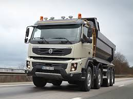 volvo truck 500 volvo fmx 500 8 4 rigid day cab with tipper body u00272010 u201313