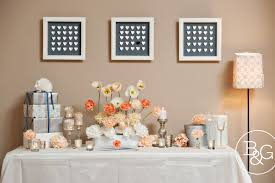 wedding gift table in paper a paper inspired styled wedding the gift table