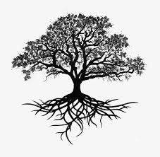 trees silhouette ink trees style decorative trees png
