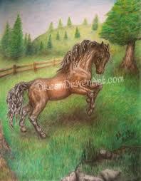pencil drawings u2013 horses dream driven art