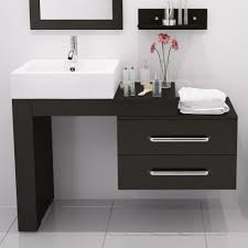 designer bathroom cabinets mercury row osborn 57 single wall mounted modern bathroom vanity