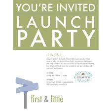 launch party invitation lilbibby com