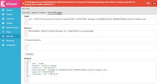 grok pattern exles debugging grok expressions kibana user guide 6 2 elastic