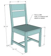 Free Wooden Dining Table Plans by Ana White Build A Classic Chairs Made Simple Free And Easy Diy