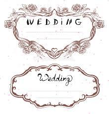 carte mariage texte titre de mariage cadre floral pour épouser l invitation texte de