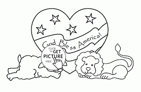patriotic coloring pages for kids eson me