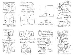Zine Template by How To Make An 8 Page Zine By Jennison One Type Of Book