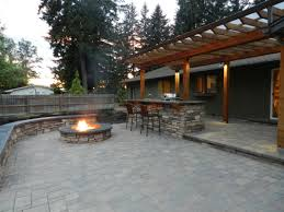 outdoor kitchen design and installation eugene landscape design