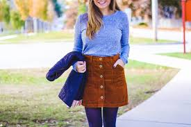 corduroy skirt style cubby fashion and lifestyle based in new