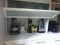 kitchen appliance storage ideas kitchen kitchen appliance storage and 6 glass garage doors