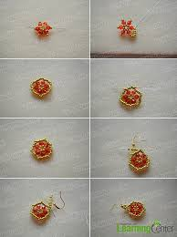 How To Make Jewelry Beads At Home - how to make hexagon bead earrings at home for christmas