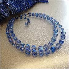 blue crystal necklace vintage images Art deco necklace blue austrian crystals 1930s jewelry jpg