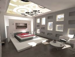 white japanese bedroom in fully white theme with luxury ceiling