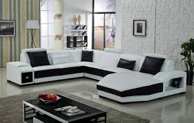 Black And White Sectional Sofa Furniture Black And White Sectional Using Black And White