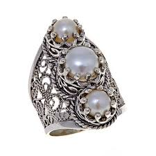 ottoman silver jewelry collection cultured freshwater pearl 3