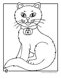 black cat printable coloring pages murderthestout