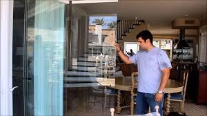 frameless glass bifold doors premier frameless folding doors balboa island ca youtube