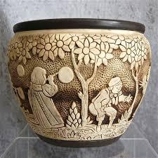 Weller Pottery Vase Patterns 133 Best Weller Pottery Images On Pinterest Weller Pottery Vase