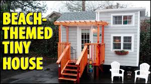 Lil Tiny Homes by Tiny Beach House On Wheels Is Bright Functional And Available