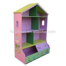 Doll House Bookcase Girls Dollhouse Bookcase U0026 Storage Fairy U0026 Flower Bookshelf