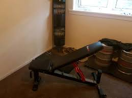 heavy duty power cage and commercial bench for sale in clydebank