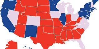 Electoral Votes Per State Map by Early Vote Election Eve Predictions Huffpost