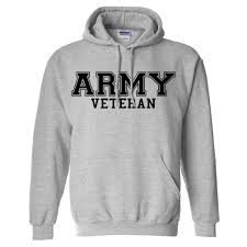 army veteran black logo hooded sweatshirt at amazon women u0027s