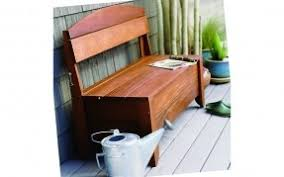 Free Deacon Storage Bench Plans by Outdoor Storage Benches Foter