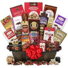 the chocolate gift basket deluxe gourmetgiftbaskets throughout