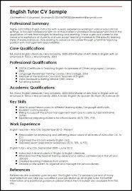 math tutor resume resume resume sles for teachers find your best