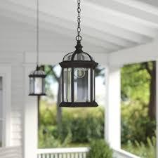 Outdoor Hanging Lighting Fixtures Outdoor Hanging Lights You Ll Wayfair